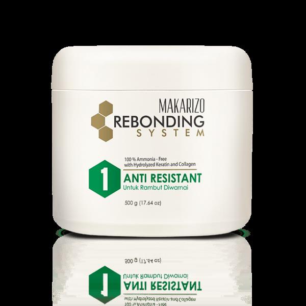 Rebonding System Step 1 Anti Resistant Hair