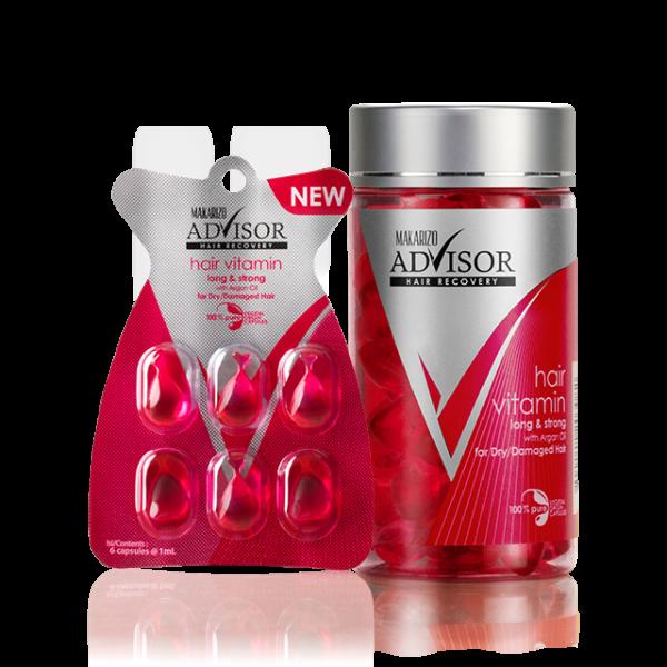Hair Vitamin Capsules Long & Strong